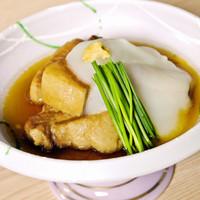 豚の角煮(じゃがいもソース)