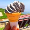 ドンデン山荘 - 料理写真:黒ごまソフト