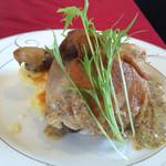 taverna Albero - 鶏のコンフィ
