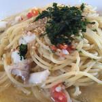 taverna Albero - 鯛と蒼さのオイルパスタ