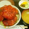 トンカツ 浅井 - 料理写真:ソースかつ丼