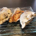 かき小屋フィーバー - 牡蠣の色々鉄板焼き