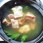 佐久田パーラー - 澄んだスープのヤギ汁