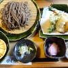 とき庵 - 料理写真:天もりそば(九割)