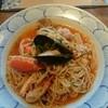 鎌倉パスタ - 料理写真:ずわい蟹と貝類のブイヤベース風パスタ