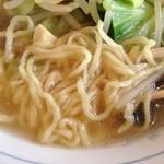 らーめんの村 - タンメン麺拡大