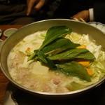とり田 - 〆の鍋