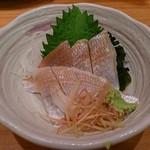 玉乃光酒蔵 - 小鯛の笹漬け