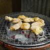 おさやん! - 料理写真:炭火で焼きます