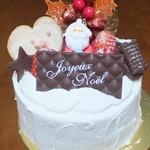 スガマタ - 料理写真:クリスマスケーキ