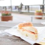 エアポートベーグルカフェ - 料理写真:クラシックサンド プレーンベーグル (500円) '14 12月中旬