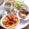 ライブラリーカフェ 然々 - 料理写真:ランチプレート 1,200円(2014.12月)