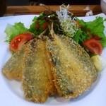 オーガニックカフェ チャント - 鯵フライ定食