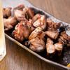 炭焼わが家 - 料理写真:炭火で焼き上げる香ばしい『宮崎日南地鶏ももばらし』