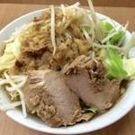 ラーメン荘 歴史を刻め - ラーメン 350g 730円(無料トッピング:野菜マシ)