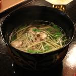 赤坂 津やま - 沢煮椀