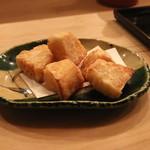 赤坂 津やま - 海老芋揚げ