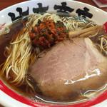 竹本商店 - 2014/12/27江戸系中華そば大盛り650円