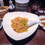 33784337 - 海鮮XO醬炒飯と油淋鶏のセット