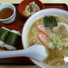 加登長 - 料理写真:ラーメン(590円)&めんセット(270円)
