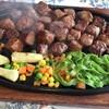 焼肉とステーキの店 ノースヒル 茨戸ガーデン - 料理写真:カットステーキ、かなり諄く。
