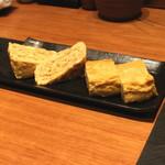 とんかつ割烹 かつぜん - 紅葉たまごの出汁巻 (2014/12)