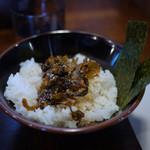 星野ラーメン店 - 高菜めし~☆