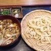 庵 - 料理写真:つけ汁うどん(豚)小盛り700円