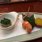 日本料理 ましの - 料理写真:141226 前菜