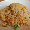 薊丘 - 料理写真:蟹入り炒飯
