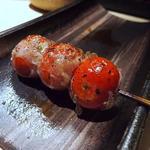 串処  鳥人 - ≪プチトマト豚巻き≫