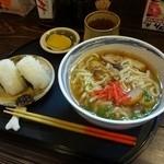 美ら彩 - 沖縄そば定食650円