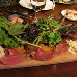 レストランユニック - 料理写真:前菜盛り合わせ