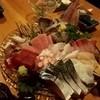 竜也 - 料理写真:コースの刺身は、新鮮で最高♪