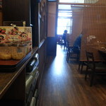 大衆居食家 しょうき - 半個室のテーブルがメインですが格安ランチです。