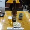 さか本そば店 - 料理写真:大瓶ビール600円