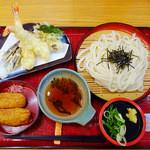 杵屋 - 天ざるうどん定食