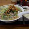 吉ちょう - 料理写真:カレーセット。麺をタンメン大盛りに変更。