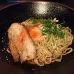 おっくん堂 - まぜ麺並、温麺、2辛(^^)