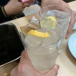 近江屋 本店 - チューハイレモンで乾杯!