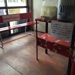 次念序 - 店内待ち室(2014年12月)