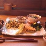 カフェ ハレノヒ - H26/10今週の定食