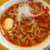 てっぱつ屋 - 料理写真:勝浦タンタンメンと味玉玉子です。