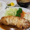 キッチンふるはし - 料理写真:ポークロースチーズ焼き【2014年10月】
