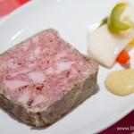 ビストロガブリ - たっぷり豚肉のテリーヌ【2014年10月】