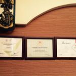 ライカノ - タイ国の認証書☻       2014/12訪問^ ^