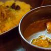 ビストロ 喜楽亭 - 料理写真:チキンかれー【2014年10月】