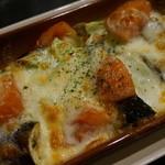宵 - 季節の野菜のオーブン焼き 700円