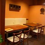 韓日茶苑 楽zen - グループ向けのテーブル席