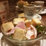 星乃珈琲店 - salad morning!